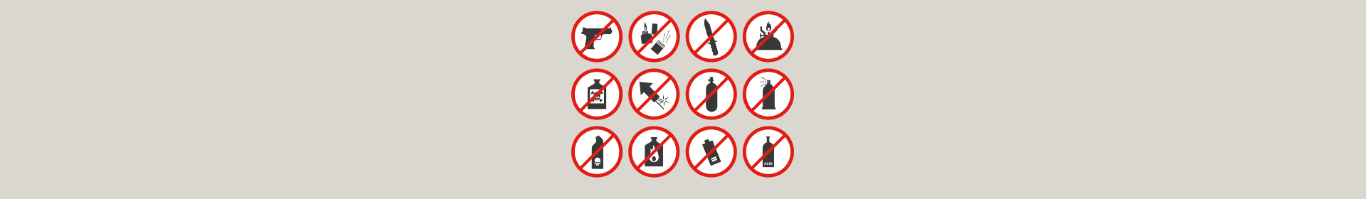 Baggage Restrictions, Prohibited Items and Restricted Items on KQ