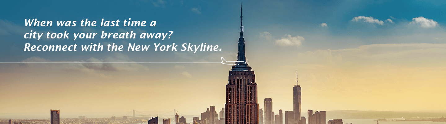 New York Flight Banner